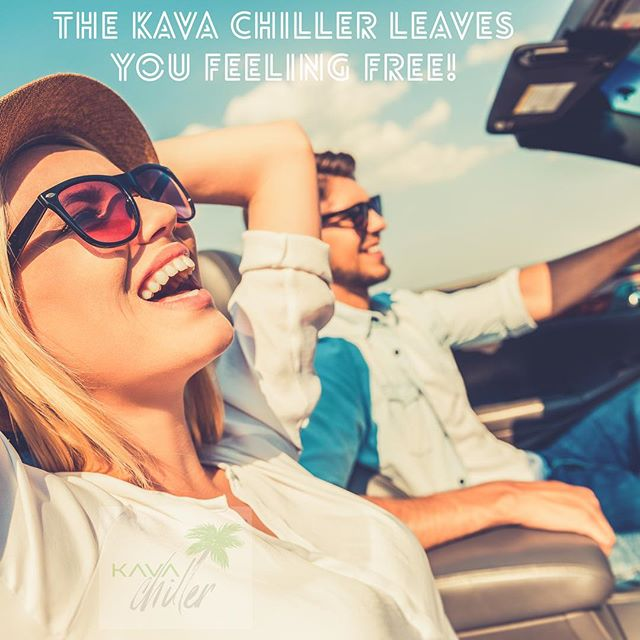 The Kava Chiller leaves you feeling FREE! Kava is an amazing stress reliever!