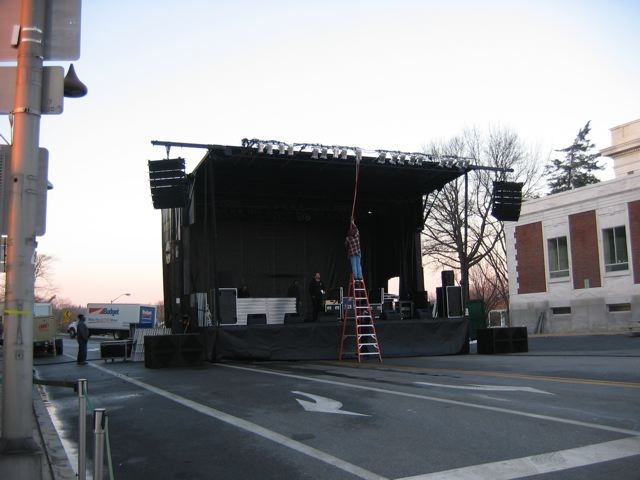 Setting Up the Lights.JPG