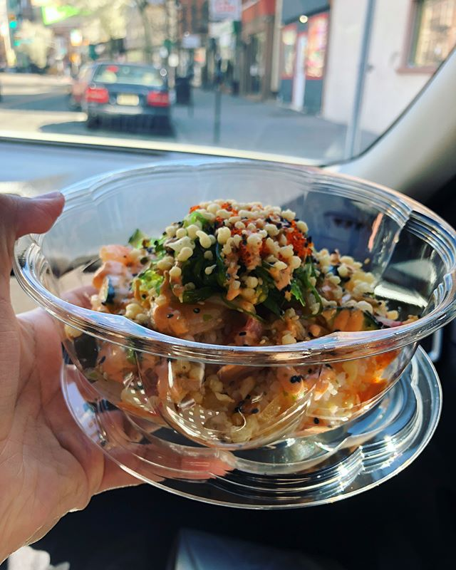 So addicting that we had to stop by during our Sunday errands for my #pokaybowl fix. Couldn't wait to devour that bowl as if I don't eat enough of this already. Thinking of having this again for dinner. 😅 How about you? Feel like a pokay bowl for lunch or maybe dinner? 😋 - POKAY WIFEY HERE. . • • • #bergeneats #surfnoturf #topfoodnews #hungryobsession #foodbeast #paramus #foodiegram #jceats #jerseycity #hoboken #jerseycityeats #seafooddiet #seafoodlover #seafoodaddict #seafoodadventures #jerseycitylocal #njisntboring #rutgers #jcupfront #pokaybowl #jerseygrammers #njallday #instayumnj #njeats