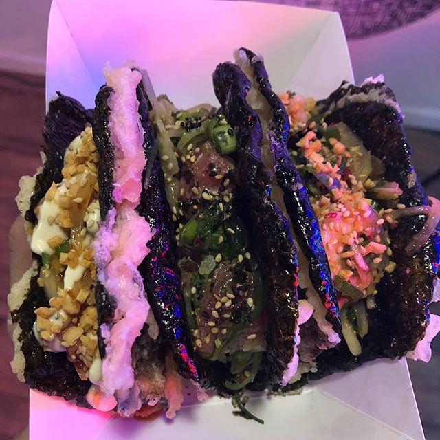 Need I say more? 🤤🌮 #Pokay tacos are here to taco-over (Take over* Get it? No? 😅) #tacopunsarethebestpuns #morethanpokay • • • #bergeneats #surfnoturf #topfoodnews #hungryobsession #foodbeast #paramus #foodiegram #jceats #jerseycity #hoboken #jerseycityeats #seafooddiet #seafoodlover #seafoodaddict #seafoodadventures #jerseycitylocal #njisntboring #rutgers #jcupfront #pokaybowl #jerseygrammers #njallday #instayumnj #njeats