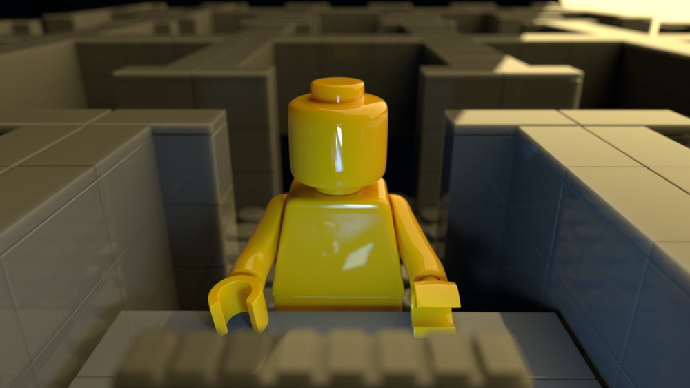 Starting a lego still render.