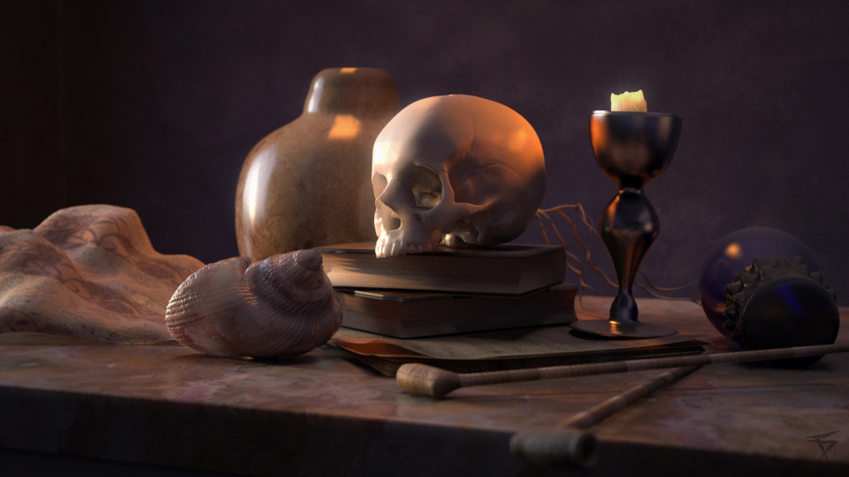 Lighting challenge for CG society.  First pass.