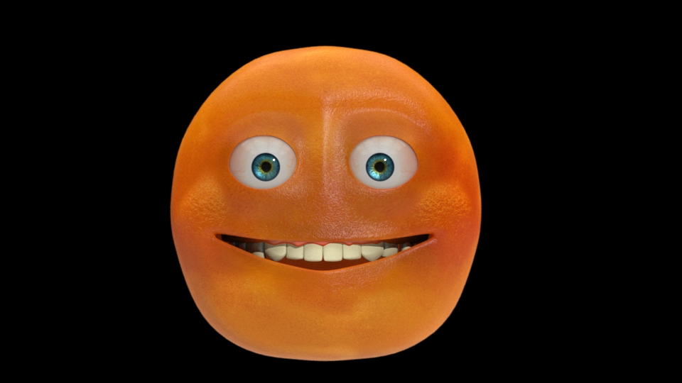 "Created the ""annoying orange""  for my next Walk Like A Woman short."