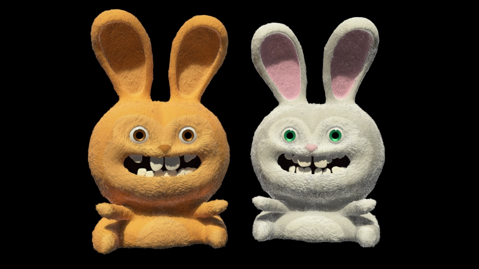 """Happy Bunnies""  Easter clip will be out Saturday April 4th.  Feel free to use it to send to your friends and family!  I've updated the bunnies with a softer look."