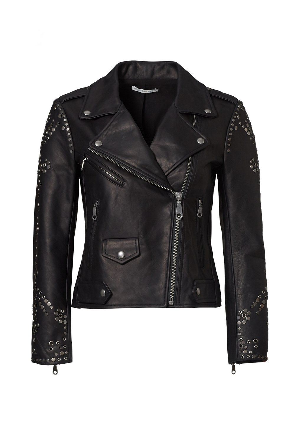 Rebecca Minkoff Studded Leather Jacket from Rent the Runway