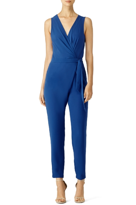 DVF Jumpsuit from Rent the Runway