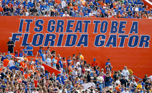 It may not be in the Swamp, but ONLY Gators will get out alive in Jacksonville as well!