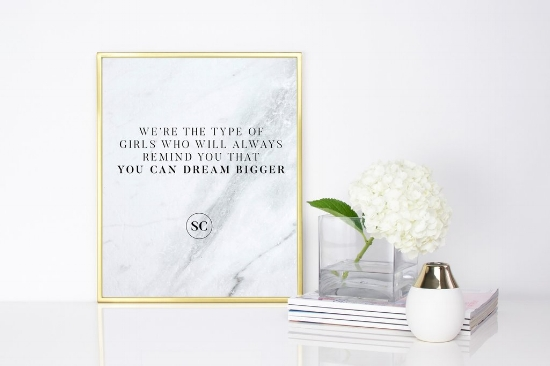 Full of motivation, the Style Collective Ladies offer fabulous, fun items you can purchase to decorate your home office.