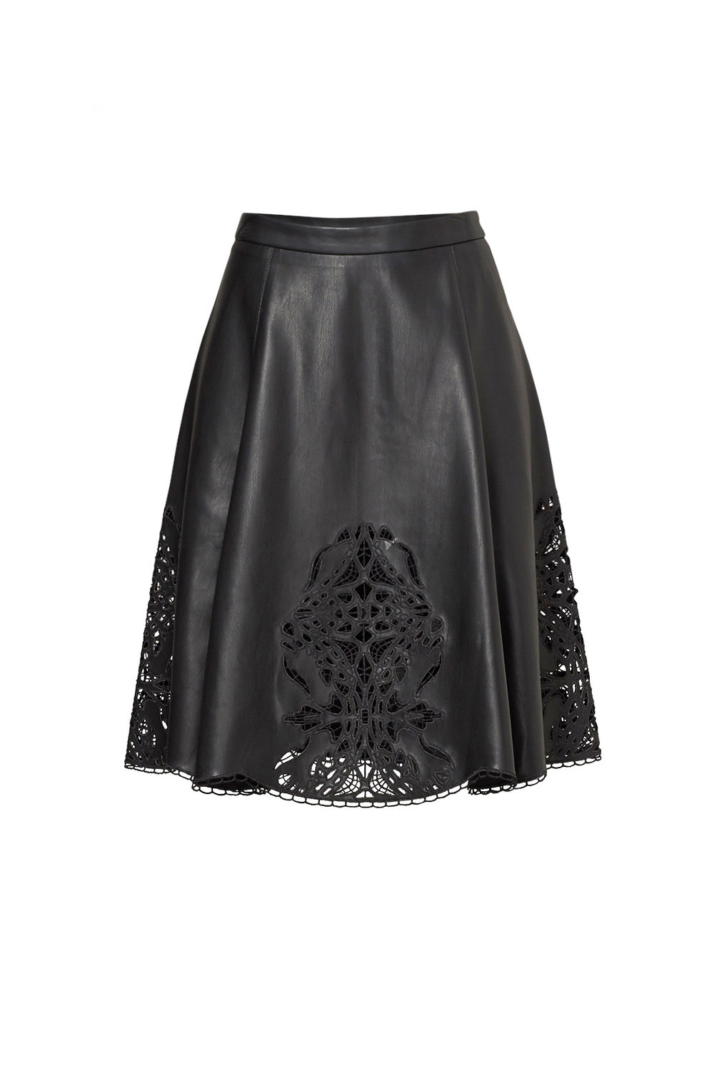 Black Faux Leather Skirt.jpg