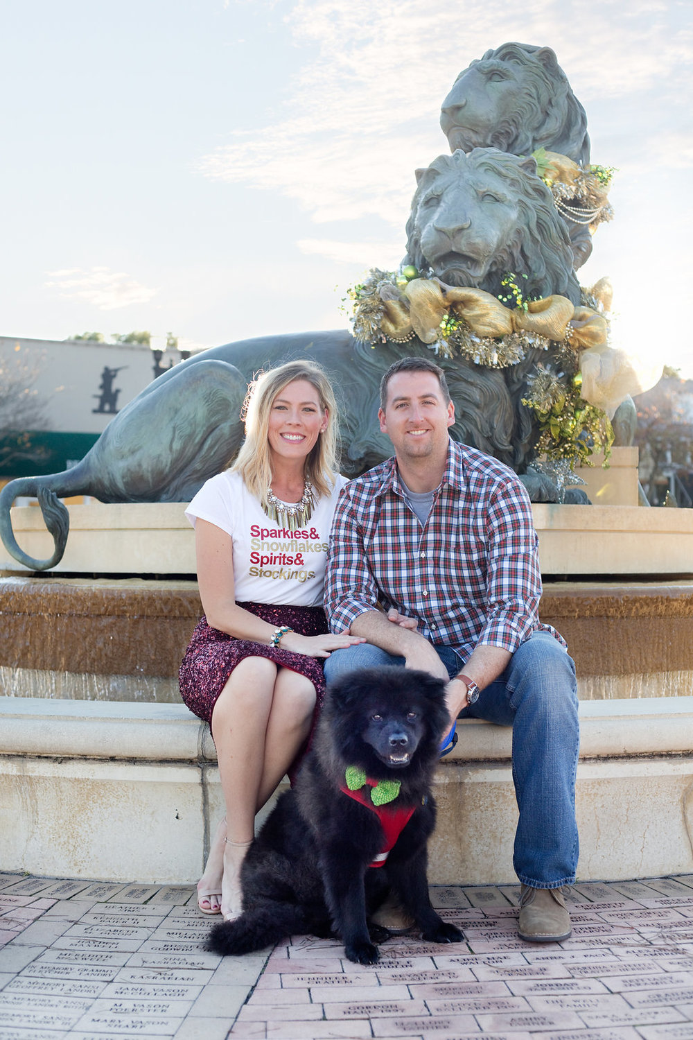 The MacKearney Family | Top US life and style blog, The Borrowed Babes, features Hallmark's Christmas in July