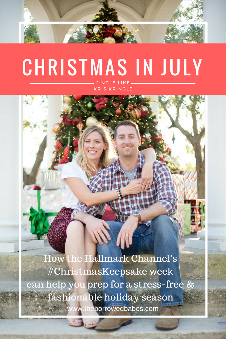 Hallmark Movies Christmas In July.Holiday Style The Borrowed Babes By Stephanie Mack A