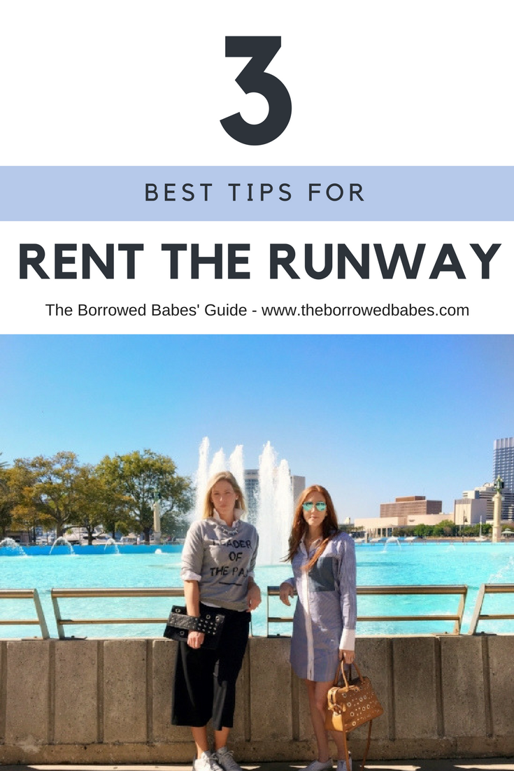 How to Rent the Runway
