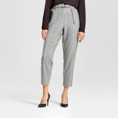 Women's Paper Bag Trouser