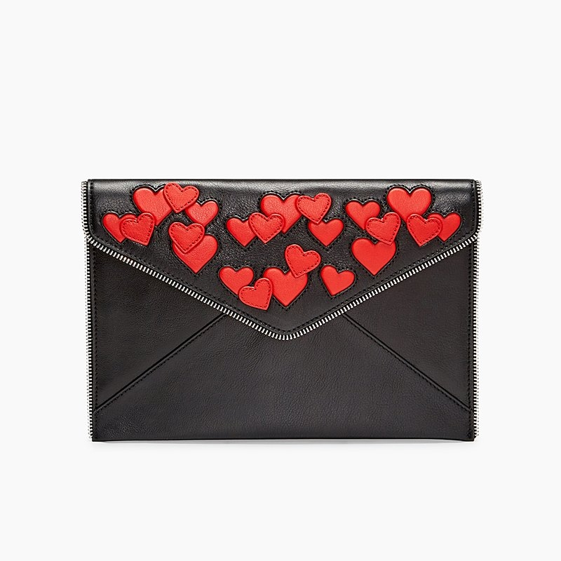 Heart Leo Clutch by Rebecca Minkoff