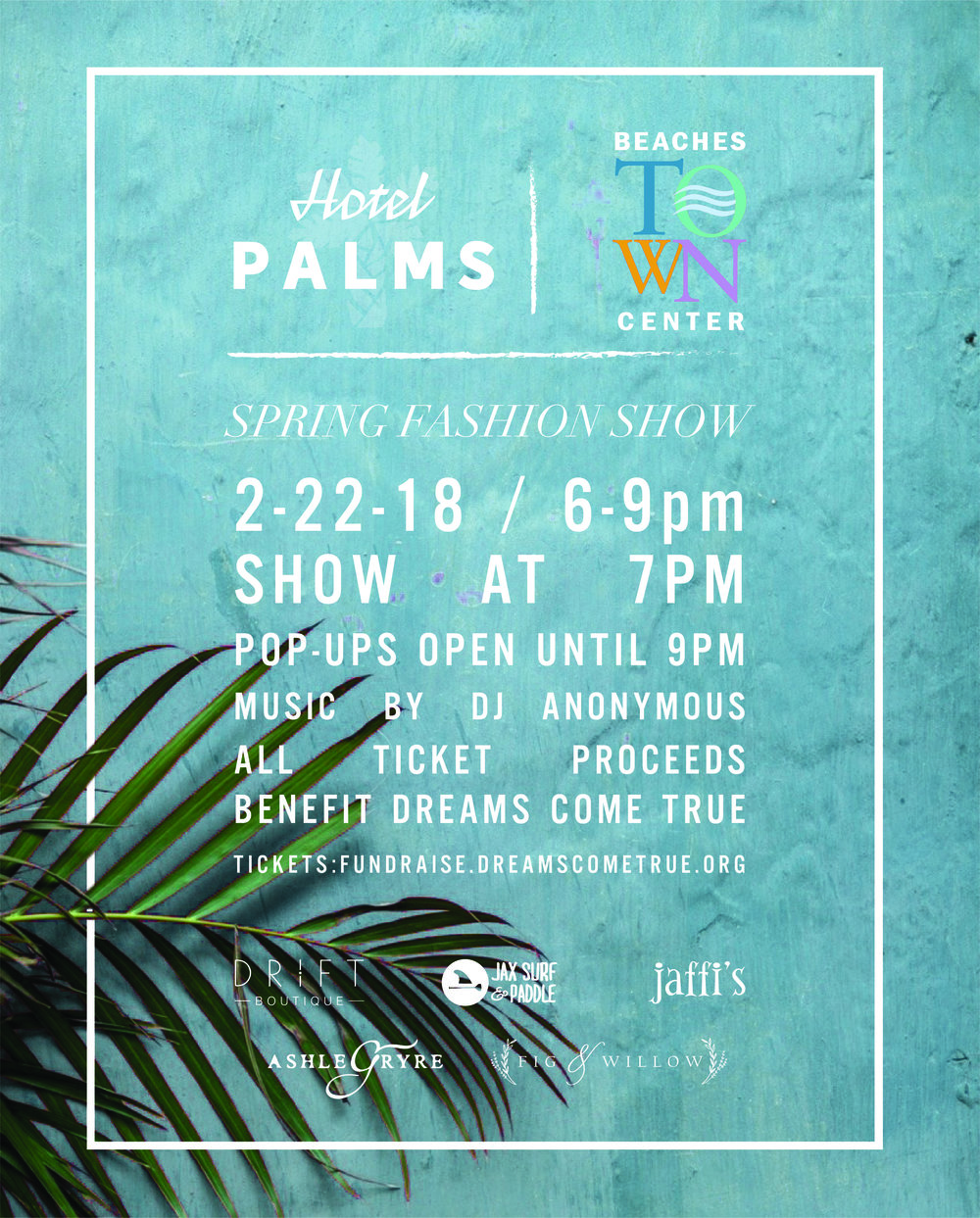 Buy your tickets now to attend the show of the season in Jax. You'll see me and some of my blogging besties there supporting Dreams Come True Jacksonville. Link to purchase your tickets is in the image and below.