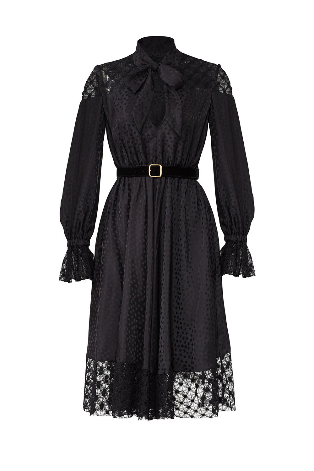 Black Lace Tie Philosophy di Lorenzo Serafini dress from Rent the Runway