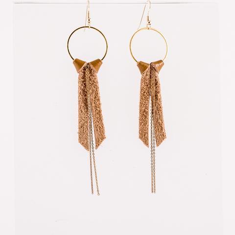 Suede Joy Earrings