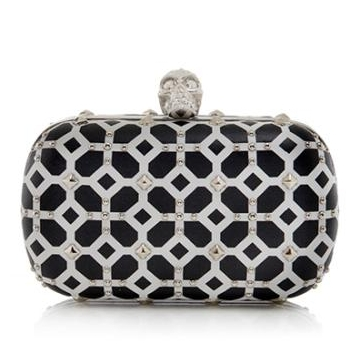Alexander McQueen Skull Box Clutch from Bag Borrow or Steal is a great option for borrowing a unique handbag that you wouldn't want to own or maybe have no need to use 10 years from now.