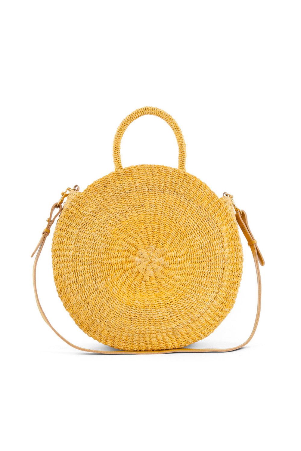 Yellow Woven Maison Bag by Clare V. from Rent the Runway