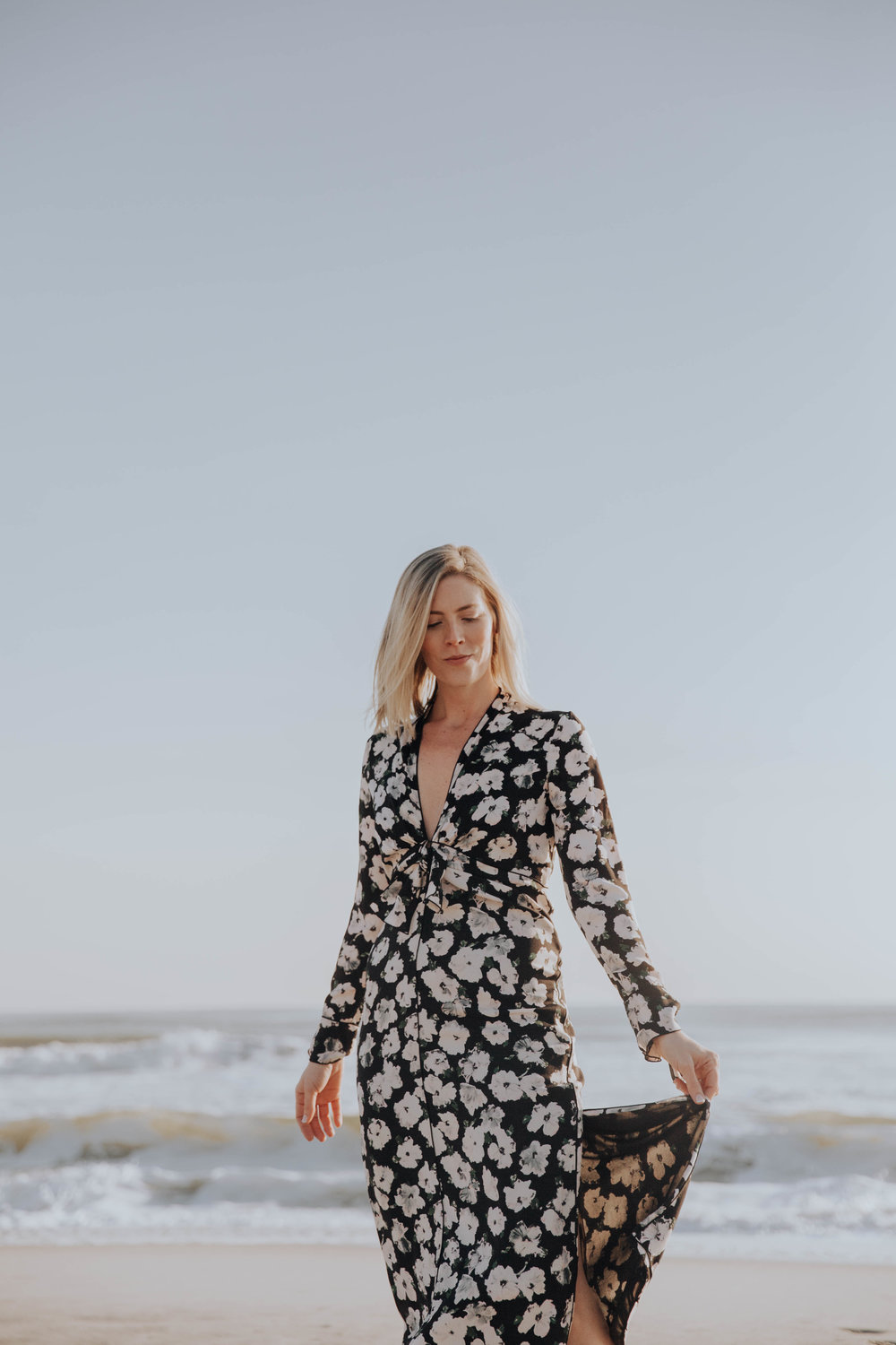 Copy of Proenza Schouler Pansy Long Sleeve Dress from Rent the Runway on The Borrowed Babes Fashion Blogger Stephanie Mack Kearney
