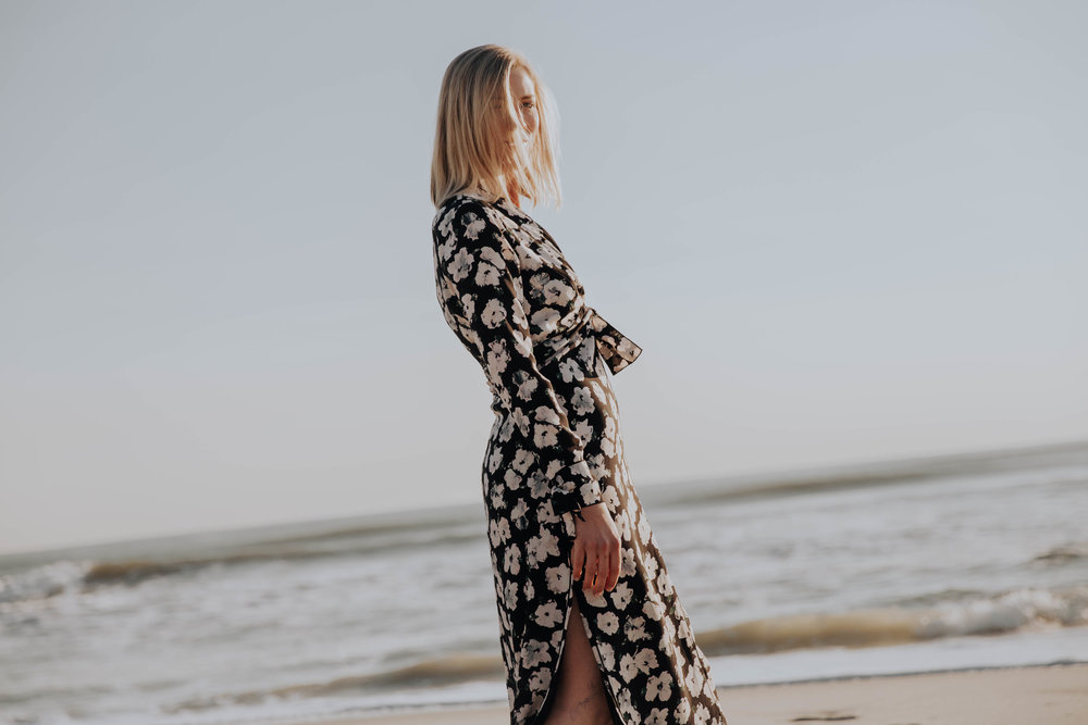 Proenza Schouler Pansy Long Sleeve Dress from Rent the Runway on The Borrowed Babes Fashion Blogger Stephanie Mack Kearney