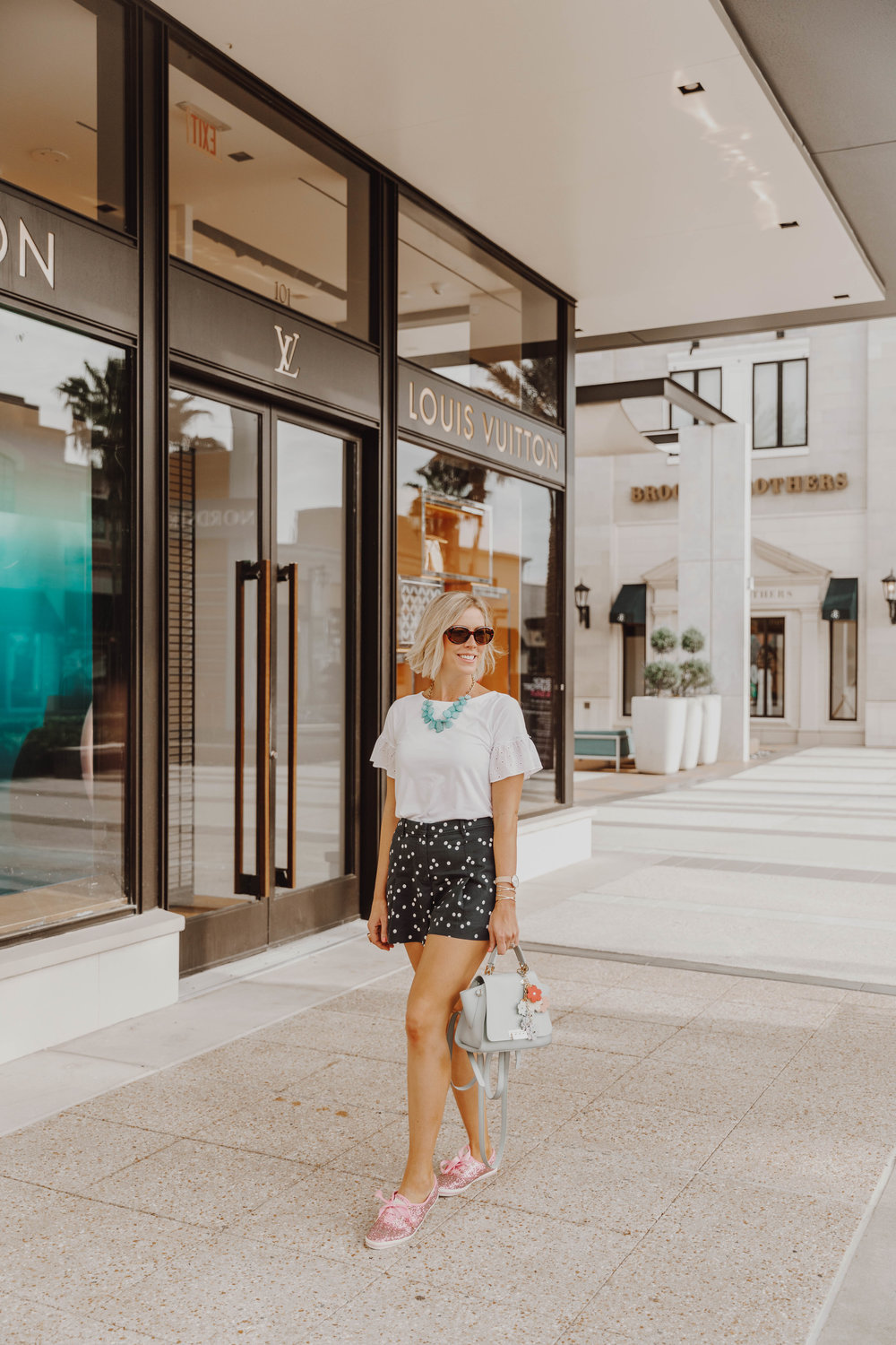 Top US fashion blog, The Borrowed Babes, features all the info on Military appreciation month  at St Johns Center in Jacksonville