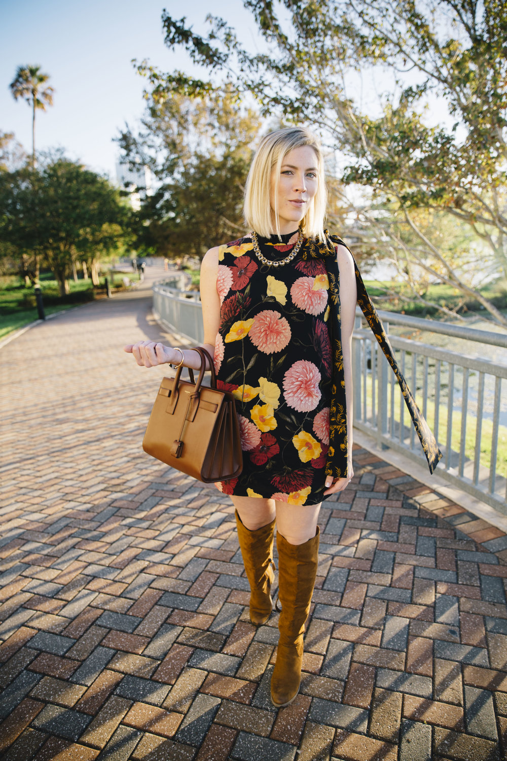 0a9fadd9450 Five Fresh Ways to Wear Floral for Fall by Stephanie Mack The Borrowed  Babes Fashion Blog