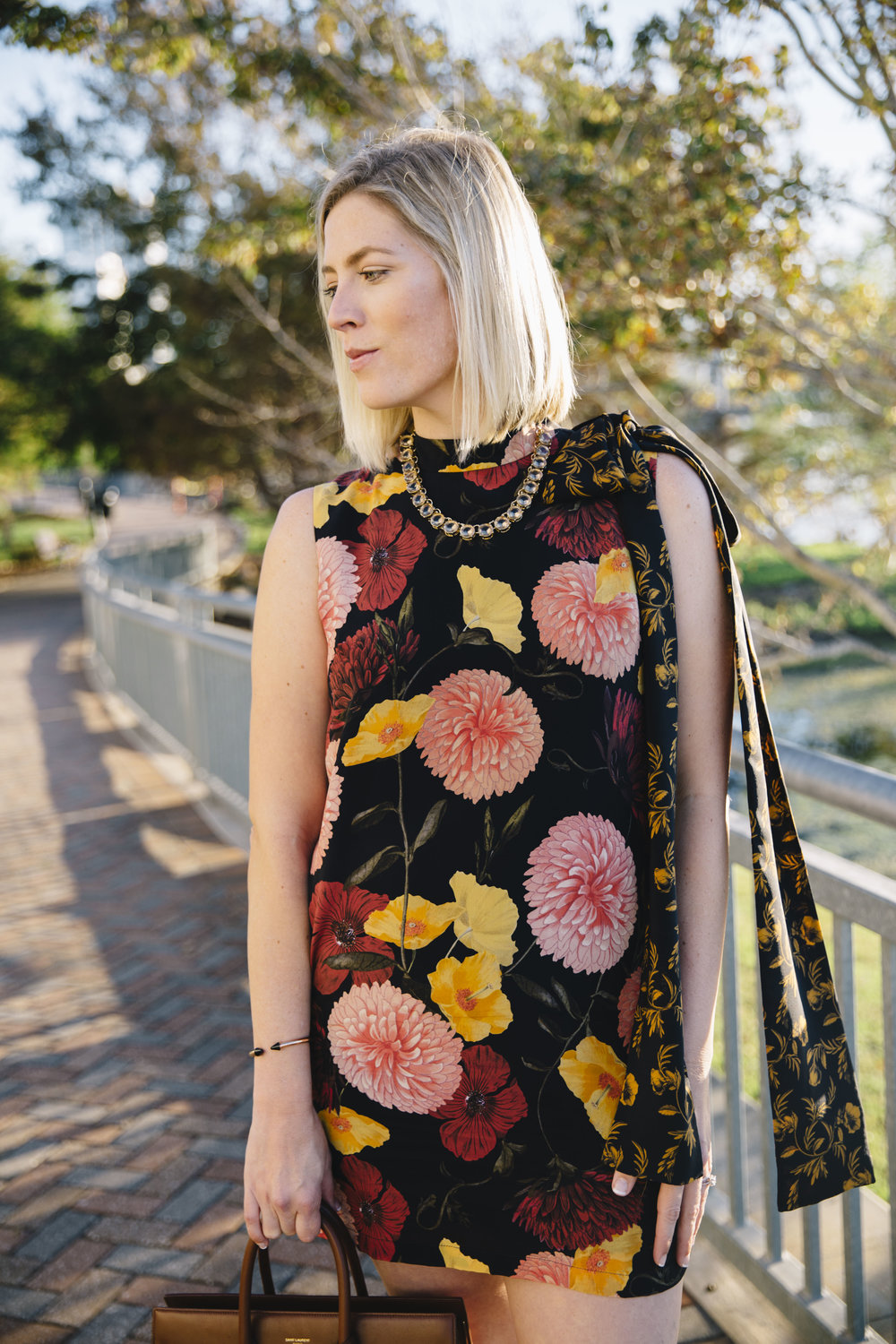 Five Fresh Ways to Wear Floral for Fall by Stephanie Mack The Borrowed Babes Fashion Blog