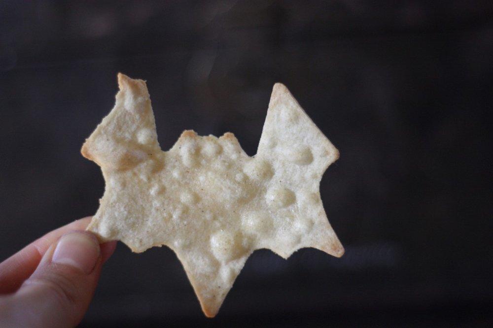 Spooky Vegan Halloween Chips