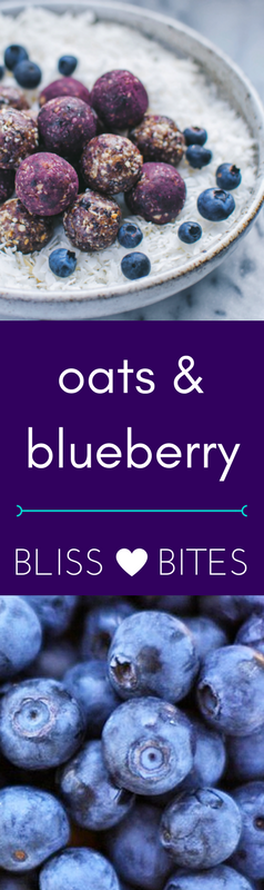 Blueberry Energy Bites by *Figberry*