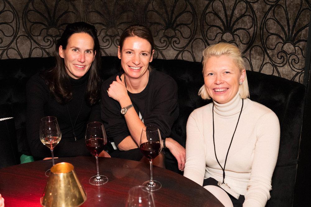 Cristina Colomar, Madeleine Martin and Mie Mortensen