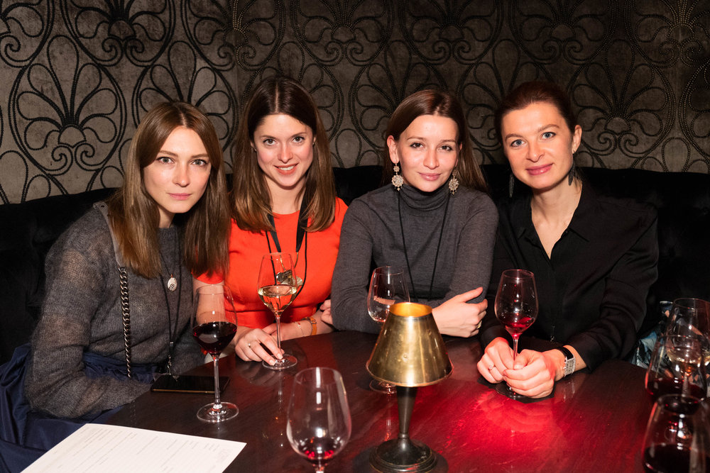Ekaterina Kashintseva, Alina Brezhneva, Lali Margania and Irina Kargina