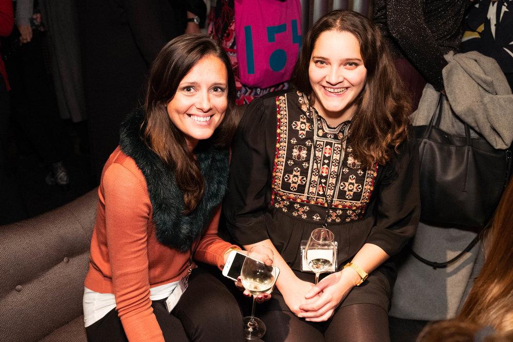 Mary Agnew and Sophie de Gama Campos