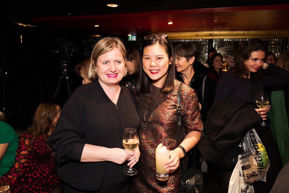Julie Lomax and Wing Sie Chan