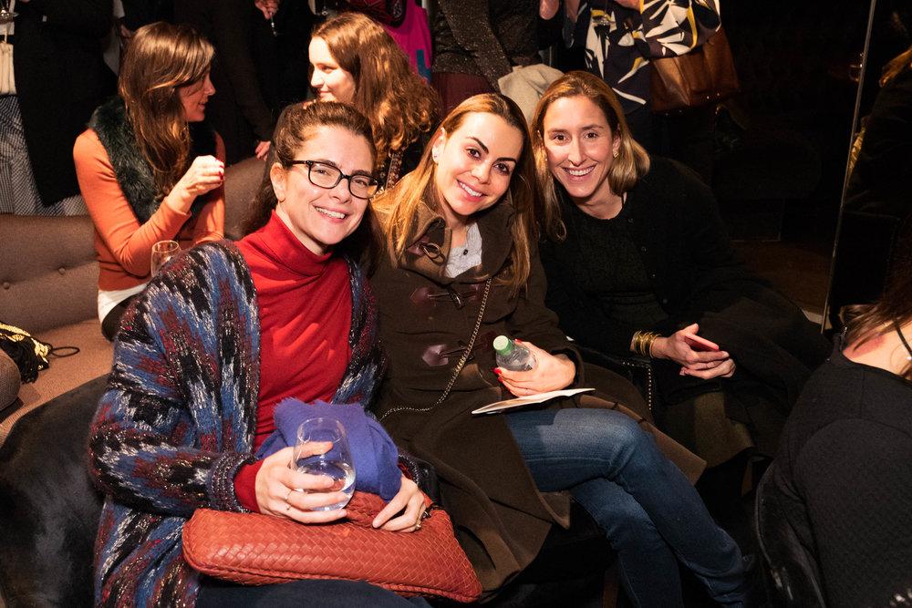 Laetitia Catoir, Roxana Sursock and Zoe Sperling