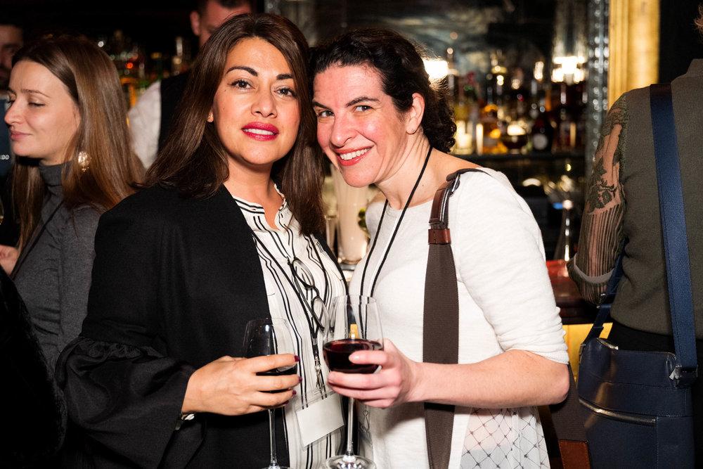 Nazy Vassegh and Melanie Gerlis