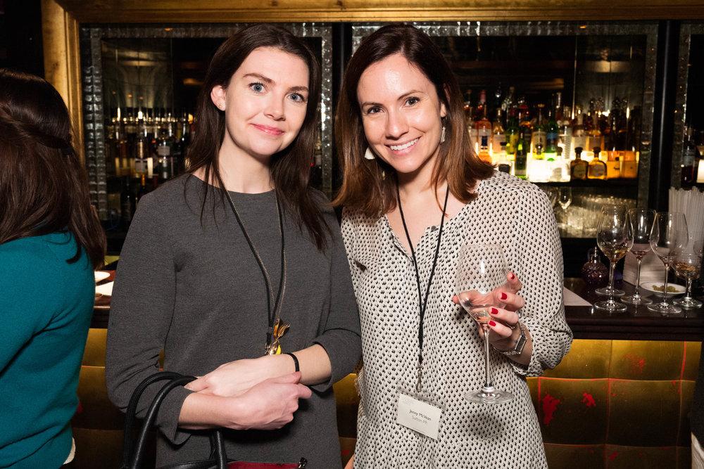 Rachel Wiseman and Jenny McVean