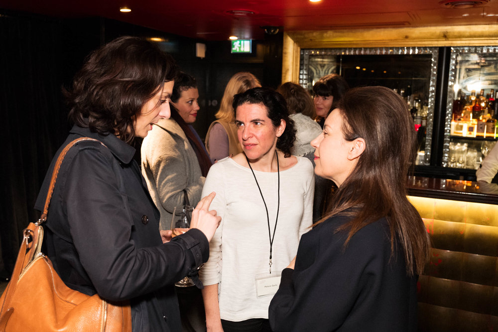 Soraya Rodriguez, Melanie Gerlis and Maureen Paley