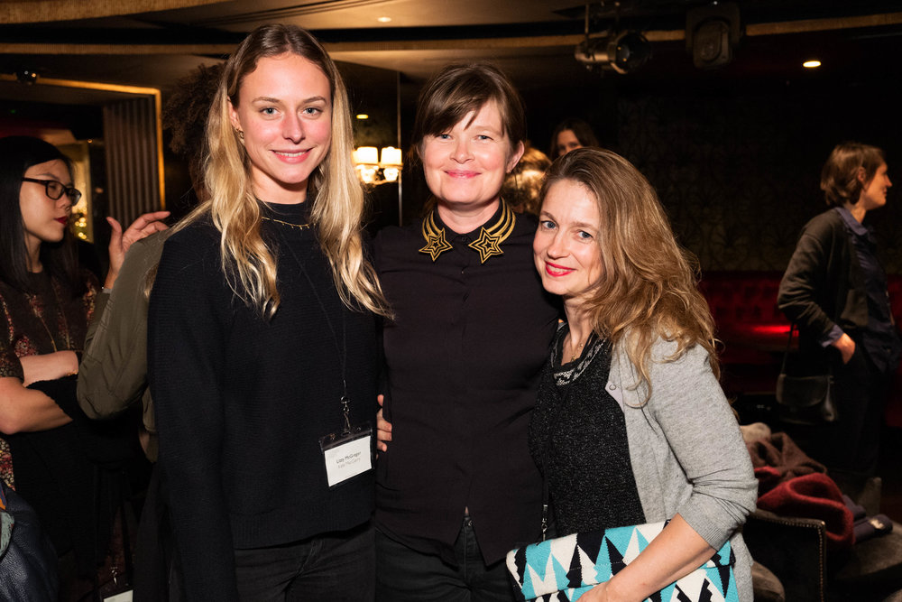 Lizzy McGregor, Kate MacGarry and Isabelle Paagman