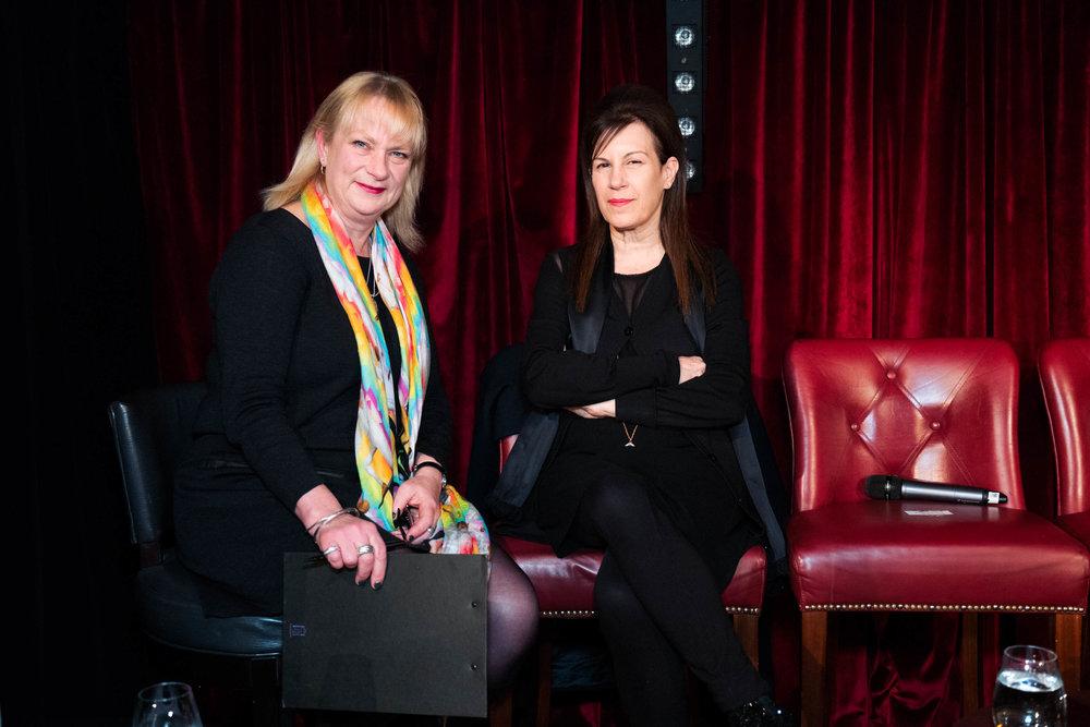 Louisa Buck and Maureen Paley