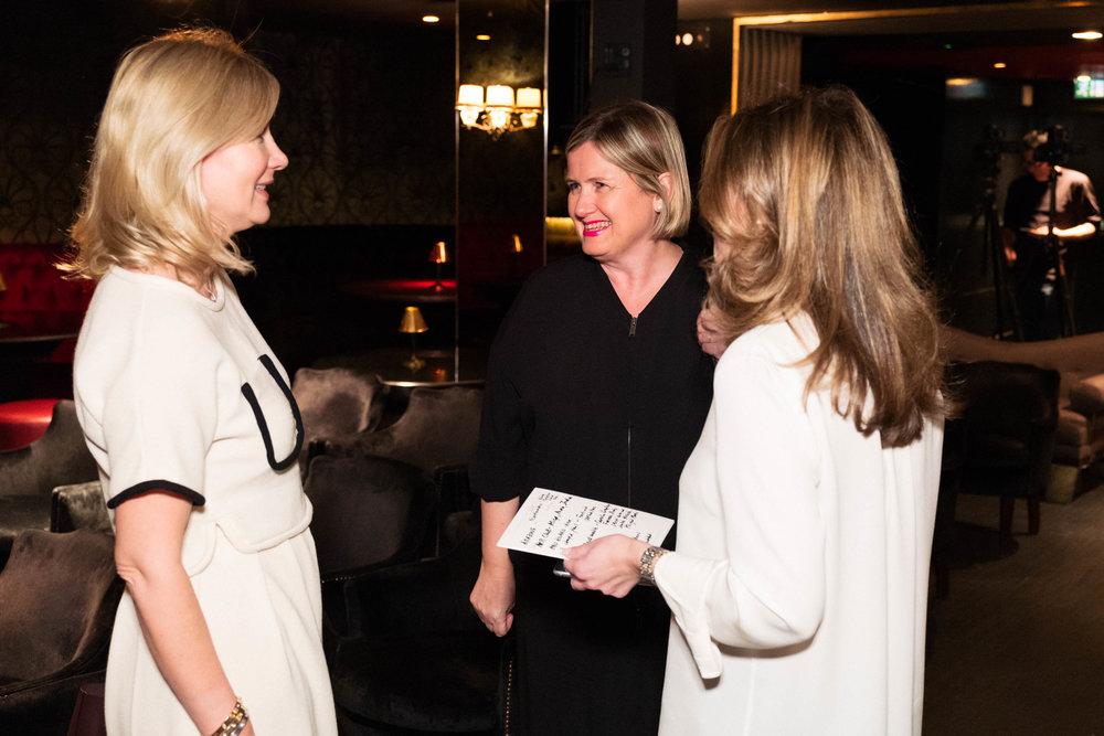 Sigrid Kirk, Julie Lomax and Kate Gordon