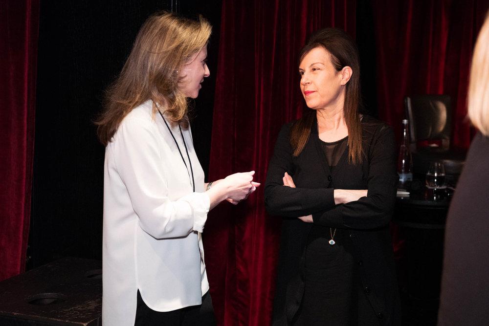 Co-Founder Kate Gordon and Advisory Board member Maureen Paley