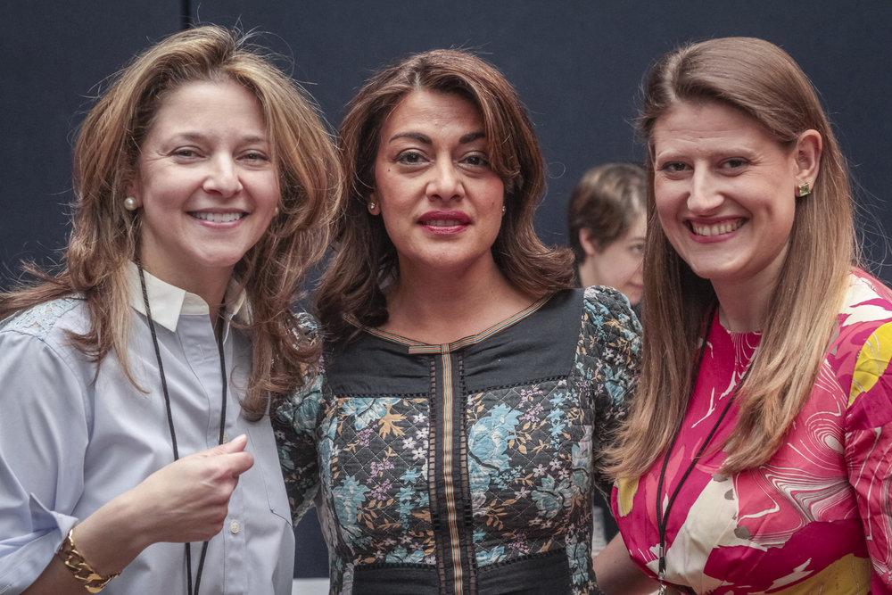 Kate Gordon, Nazy Vassegh and Theodora Clarke