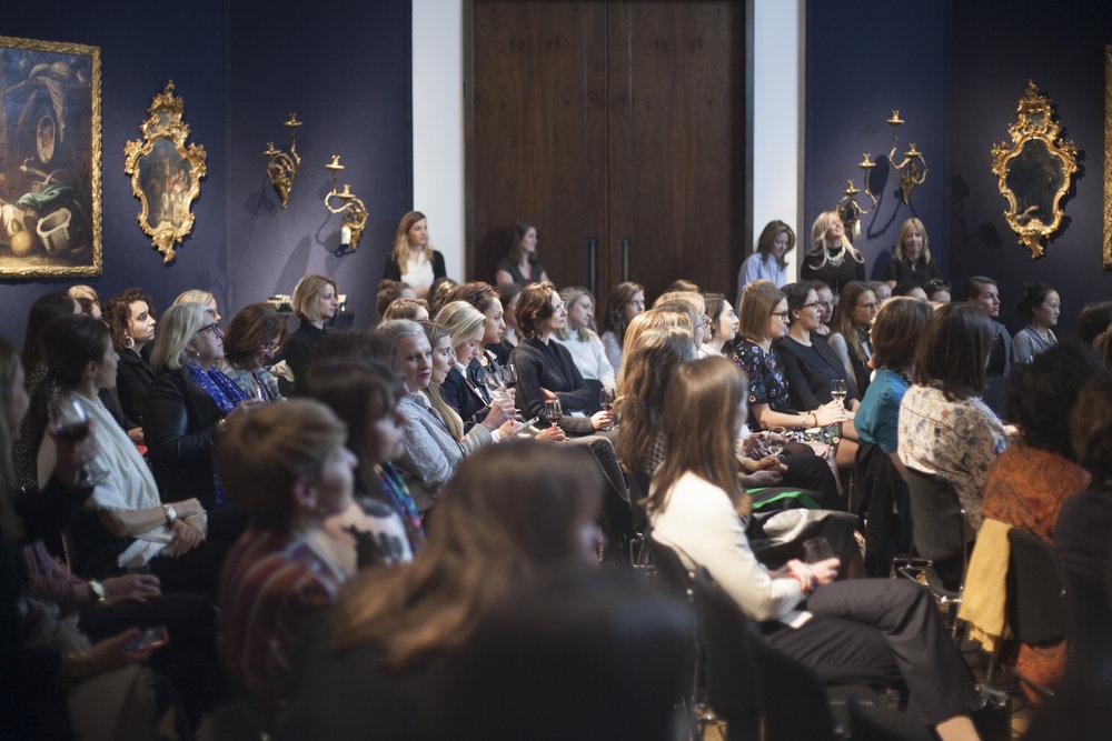 AWITA The Art of Mentoring, Christie's Mayfair