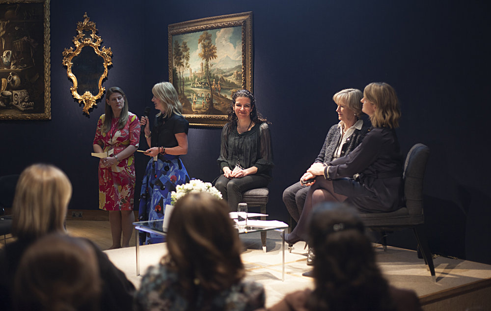 Theodora Clarke, Sigrid Kirk, Melanie Gerlis, Georgina Adam, Sophie Macpherson