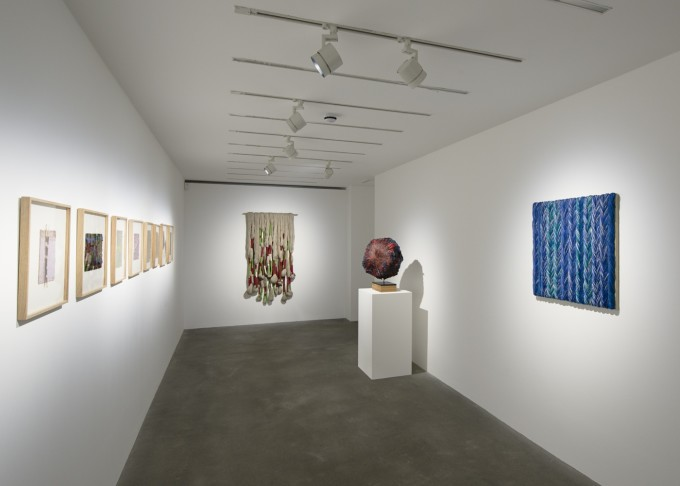 A view of the exhibition Stones of Peace at Alison Jacques.