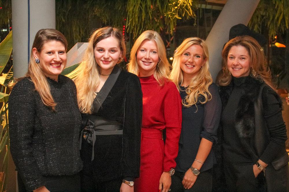 Theodora Clark, Hannah Clynch, Sigrid Kirk, Katrina Aleksa, and Kate Gordon