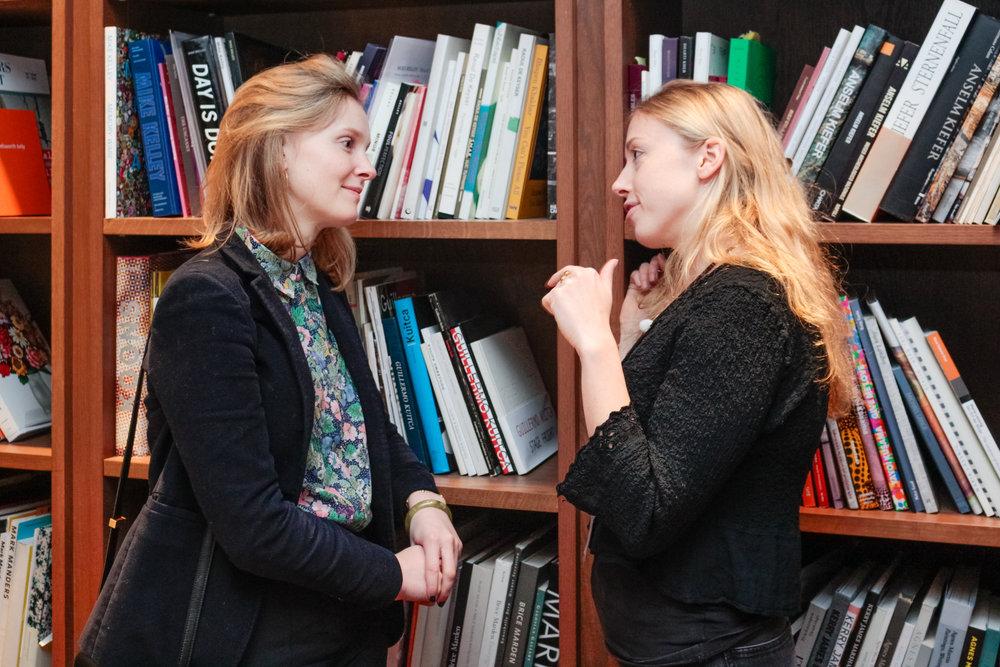 Marlene von Carnap and Alexandra Warder