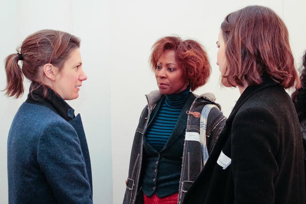 Hannah Barry, Ifeoma Dike and Grace Perrett