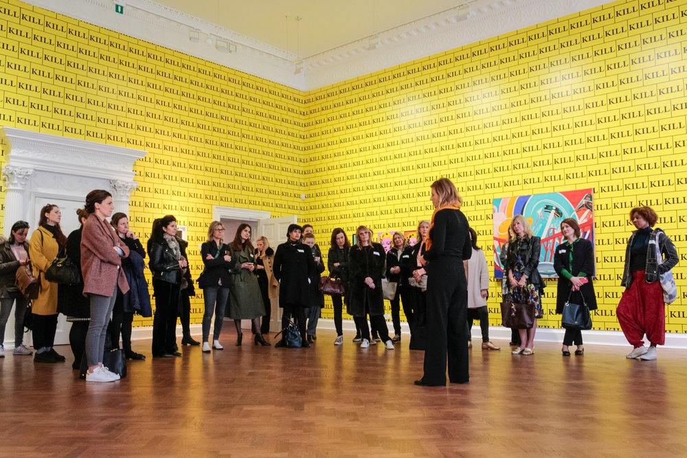 The Association of Women in the Arts,Galerie Thaddaeus Ropac, 2017